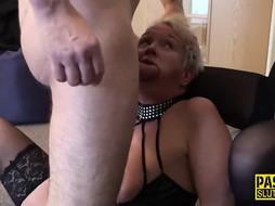 Real mature slave cuckolds